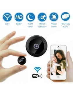 Camara Vigilancia Inal/ámbrico Audio de 2 V/ías HD 720P C/ámara IP Interior WiFi con Visi/ón Nocturna Detecci/ón de Movimiento /& Tracker Sistema Seguridad para Hogar//Beb/é//Mascotas C/ámara Domo